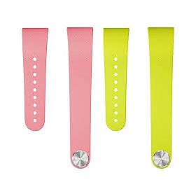 SmartBand Talk With Large Strap Pink/Lime