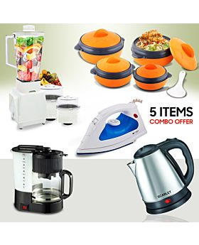 5 Items Special Combo Offer