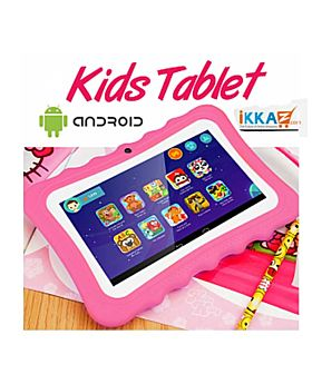 BSNL K1 Kids Tablet, 7 inch, Android 4.4.2, 4GB, Dual Core, Dual Camera, Pink
