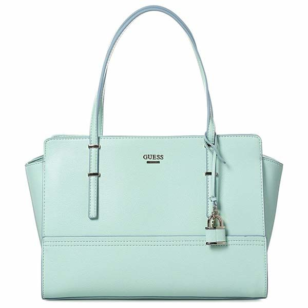 Guess Tote Bag For Women, Green