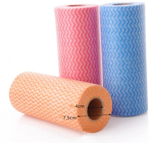 150pcs Roll Reusable Cleaning Wipe