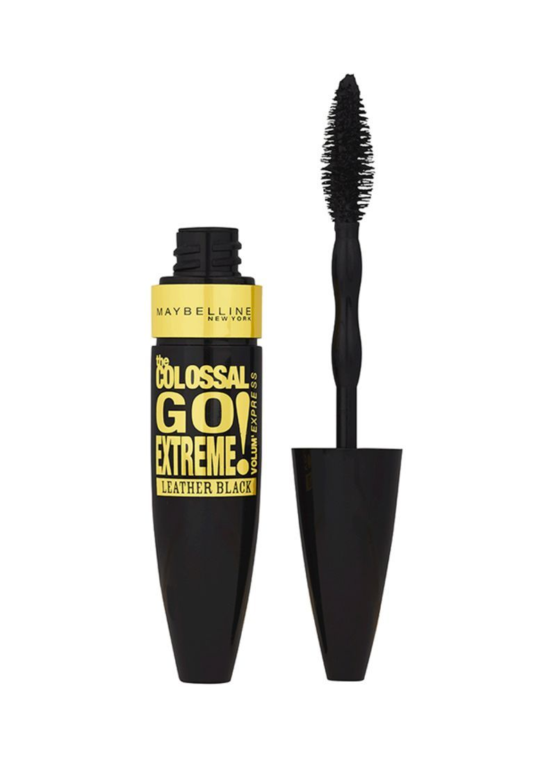 b1b7ad3db0c Maybelline New York Colossal Go Extreme Volum Express Mascara Leather Black  Souqikkaz.com