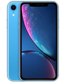 Apple iPhone XR without Face Time - 256GB, 4G LTE, Blue