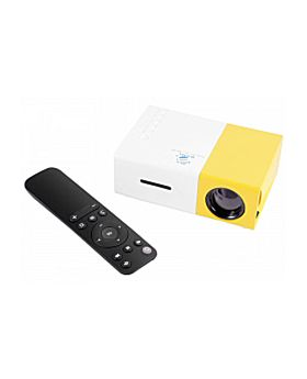 BSNL AP700 LED Projector, 600 Lumens, With HDMI, AV, USB, SD Card Slot And Remote Control Included