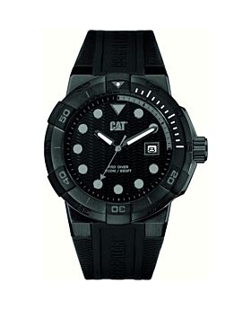 CAT Men's Water Resistant Silicone Analog Watch K016127137