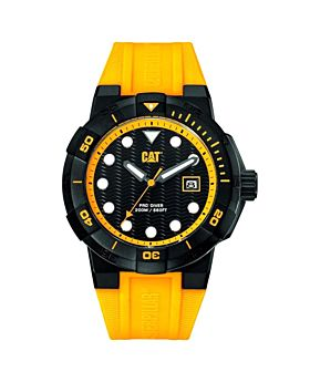 CAT Men's Water Resistant Silicone Analog Watch SI16123123