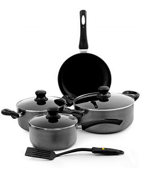 Royalford 8-Piece Cookware Set Grey RF4999